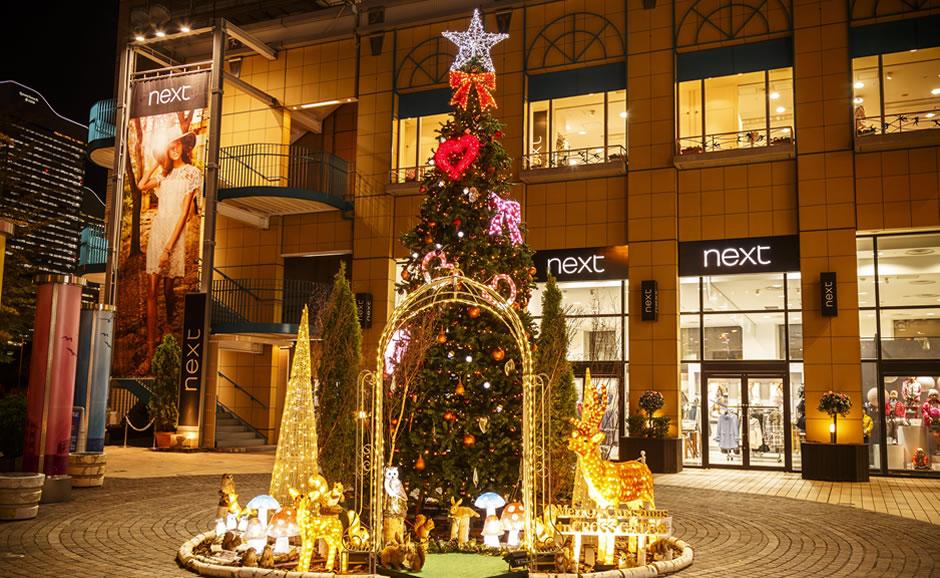 2017年クリスマスイルミネーション装飾