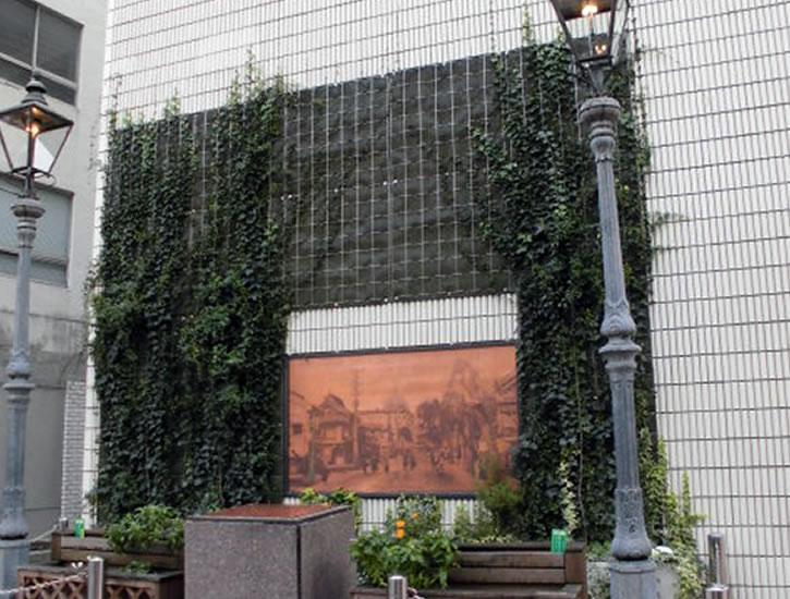 横浜関内ホール ~壁面緑化~